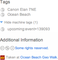 Flickr Machine Tags
